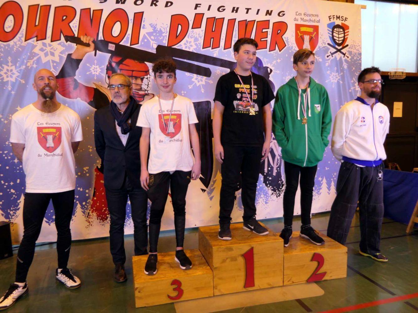 2020-01_Tournoi_Hiver-podium-minime-sabre_bouclier