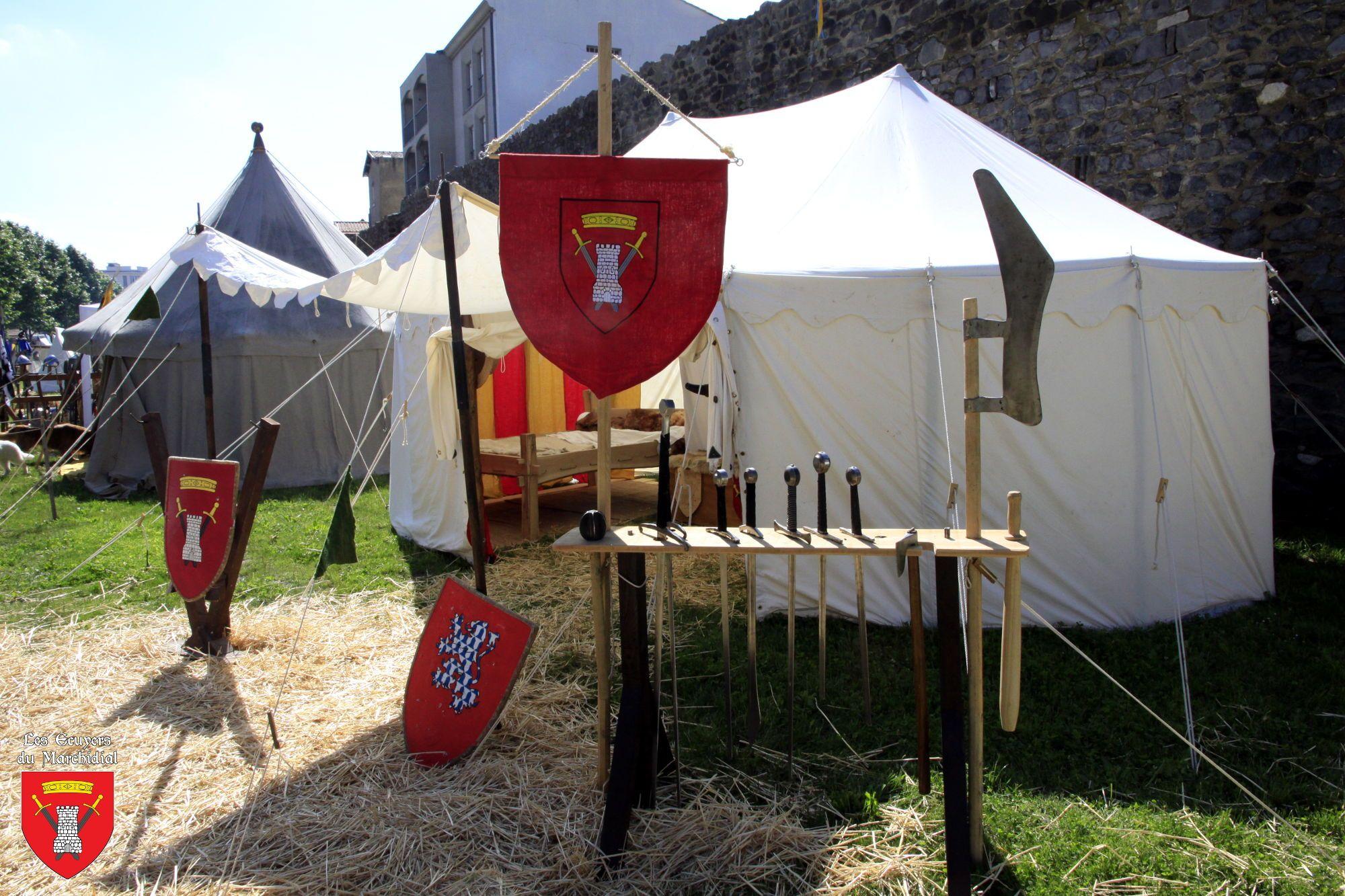 Presta_Campement médiéval_2_Les Ecuyers du Marchidial