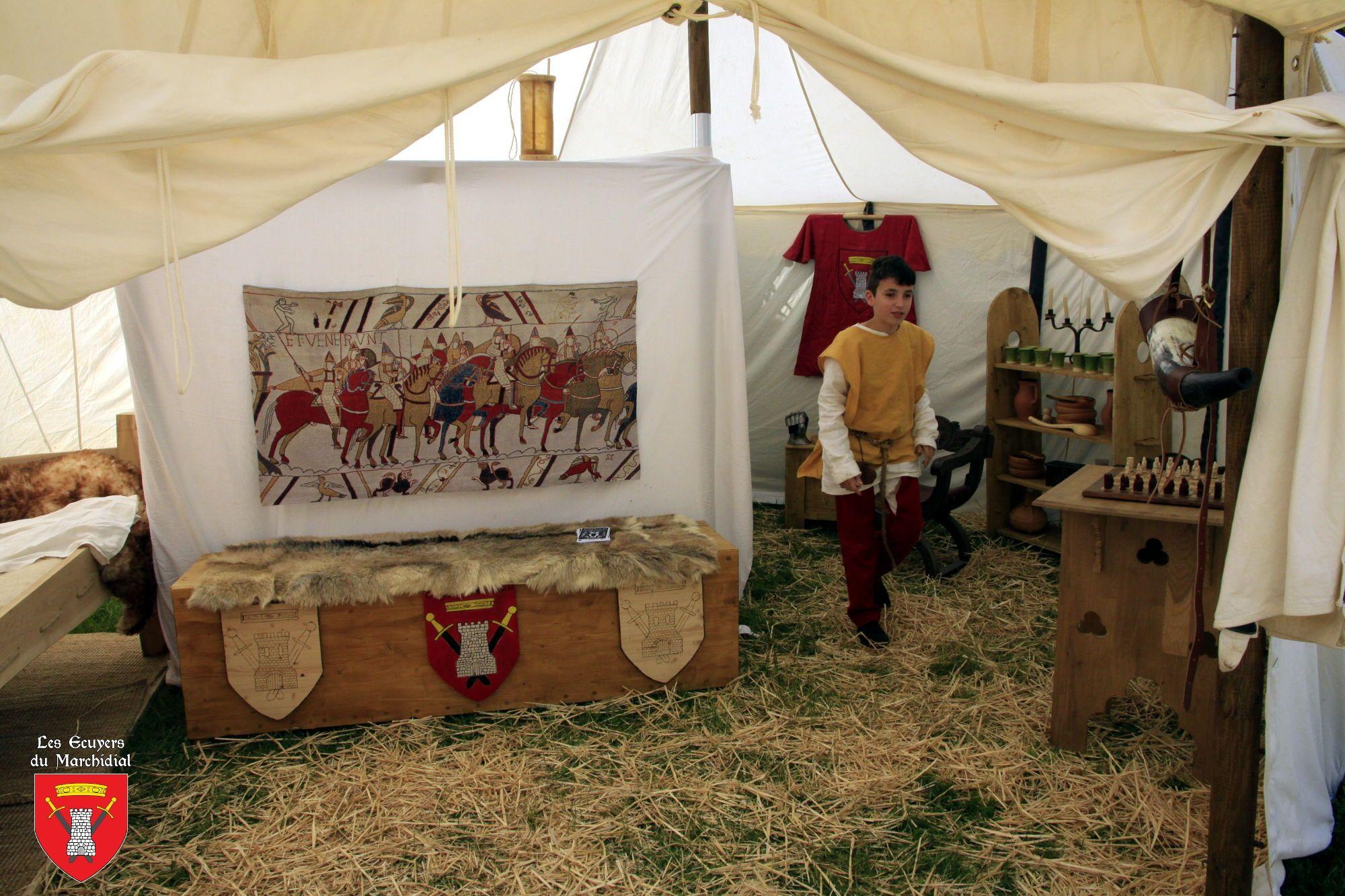 Presta_Campement médiéval_Les Ecuyers du Marchidial