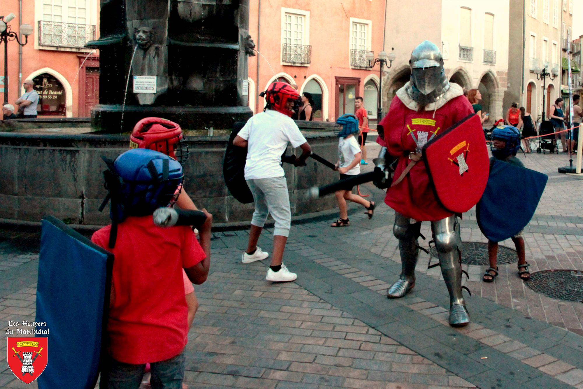 Presta_Initiation au combat_Les Ecuyers du Marchidial